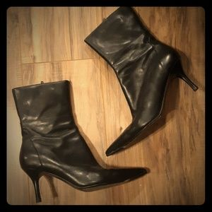 Charles by Charles David Black Boots. Size 9